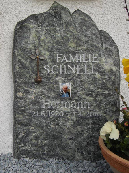 Urnentafeln Grabschriften - Stein & Design Schwarzenbacher