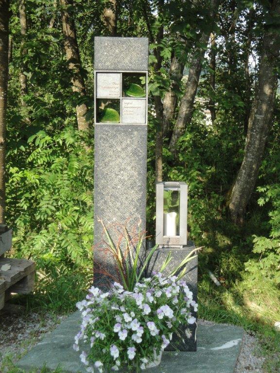 Urnengrab - Stein & Design Schwarzenbacher - Steinmetzbetrieb Uttendorf Pinzgau