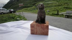 Hund Bronze Stein & Design Schwarzenbacher