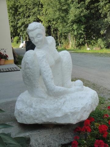 Skulptur Carrara Marmor - Stein & Design Schwarzenbacher