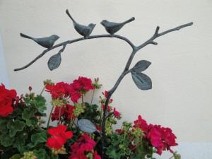 Vögel auf Zweig Bronze - Stein & Design Schwarzenbacher