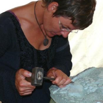 Hannelore Schwarzenbacher - Steinmetzmeisterin