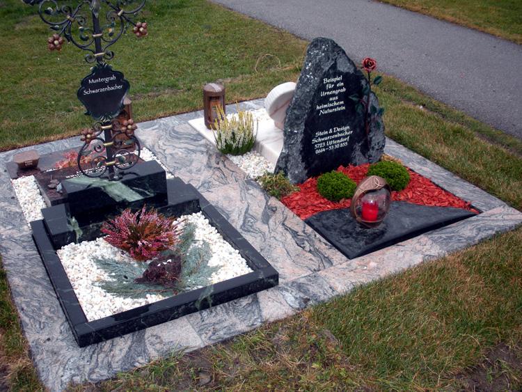 Urnengräber von Stein & Design Schwarzenbacher